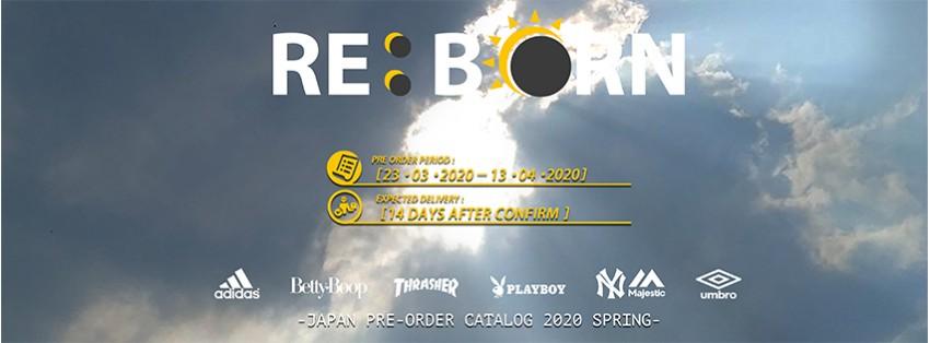 REBORN Pre-Order