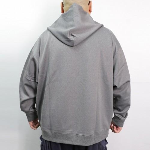 Tech Full Zip Hoodie - Grey