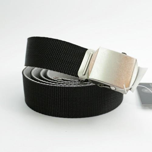 Extra Long Reversible Casual Belt - Black/Grey