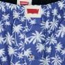 Palm Tree Pattern Boxer Set - Blue/Green
