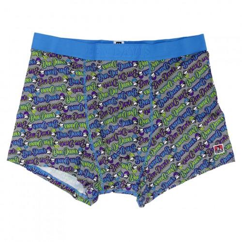 Cursive Gorilla Logo Boxers - Blue