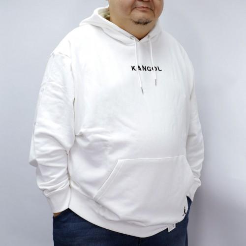 Back Centre Logo Hoodie - White