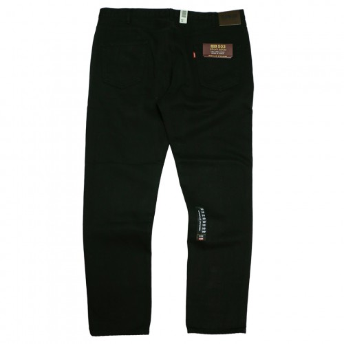 503 Grand Denim Regular Straight Jeans - Black