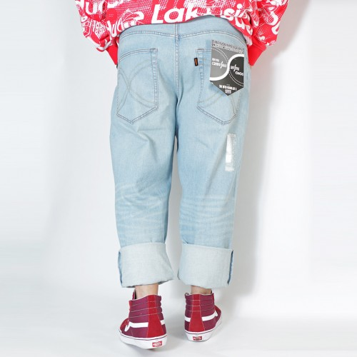 808A Ganso Hinshitsu Inde Series Denim - Icy