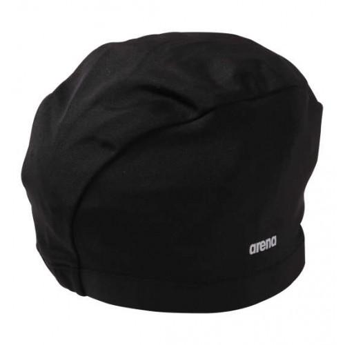Simple Logo Swimming Cap - Black