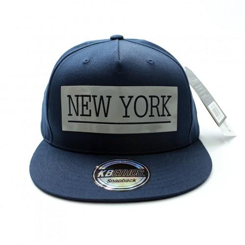 New York Snapback Cap - Navy