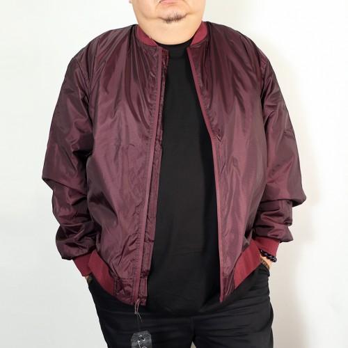 Nylon Jersey Lined Jacket - Wine