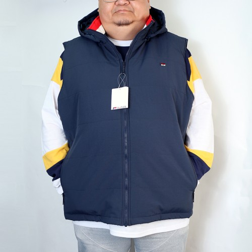 【Coming Soon】Quilted Vest - Navy