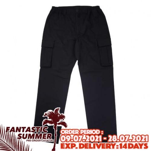 Stretch Cargo Pants - Black