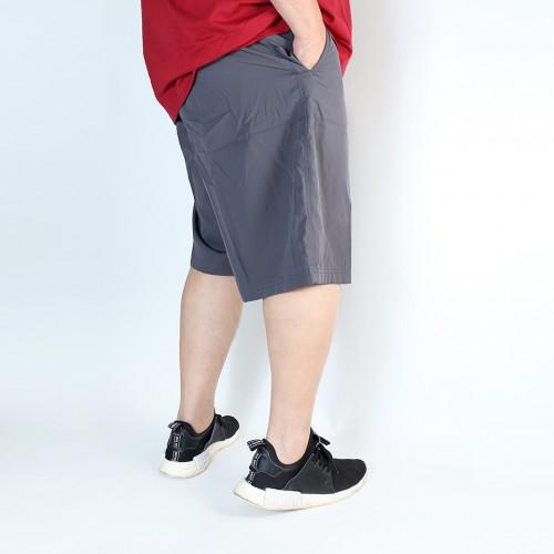 Elastic Utility Shorts - Carbonite