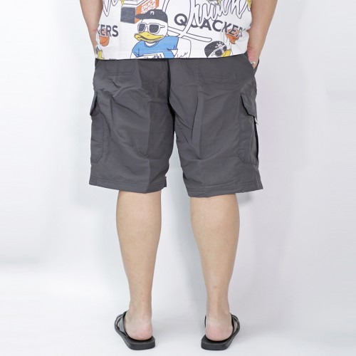 Performance Cargo Shorts - Charcoal