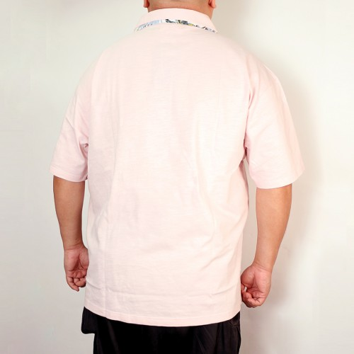 Slab Tenjiku Polo Shirt - Pink