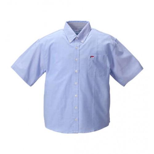 Ox BD Short Sleeve Shirt - Blue