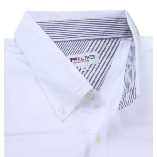 Ox BD Short Sleeve Shirt - White