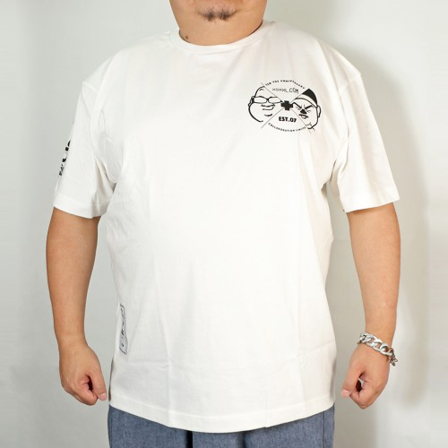 10Y's Limited Glassman Tee - White