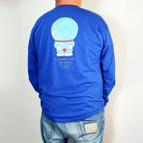I'm Doraemon L/S Tee - Blue