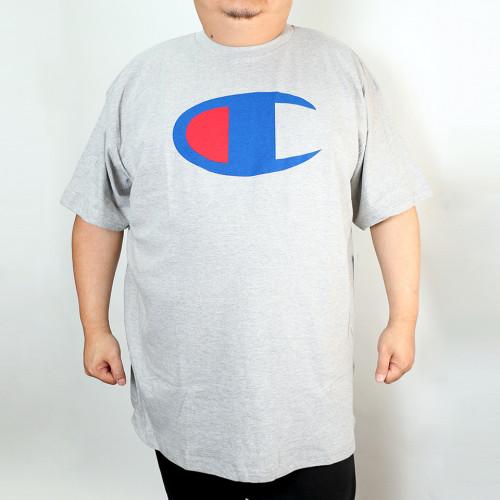 Big C Center Tee - Grey