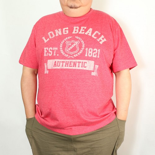 Long Beach Tee - Red