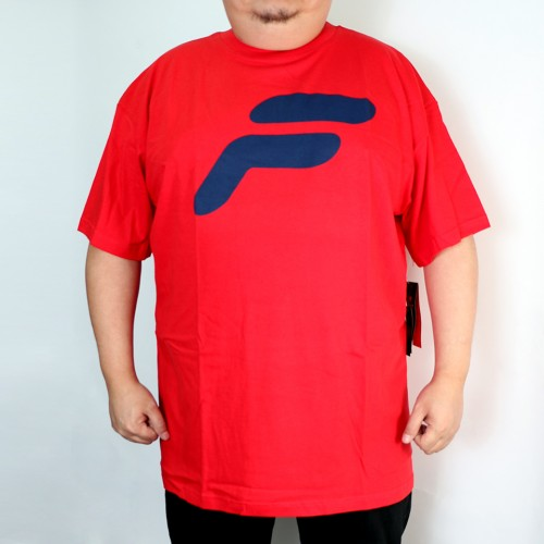 S/S Scrn Tee - Red
