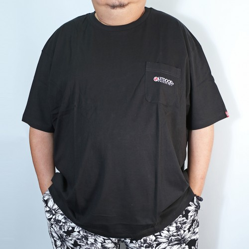 Simple Tengu Pocket Tee - Black