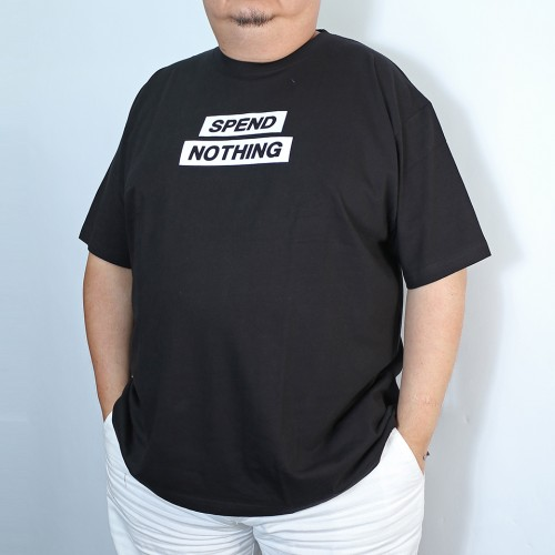 Spend Nothing Tee - Black