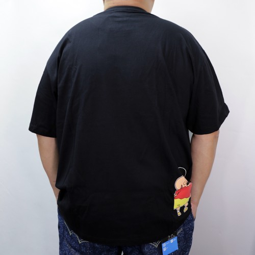 Shin Chan Writhing Tee - Black