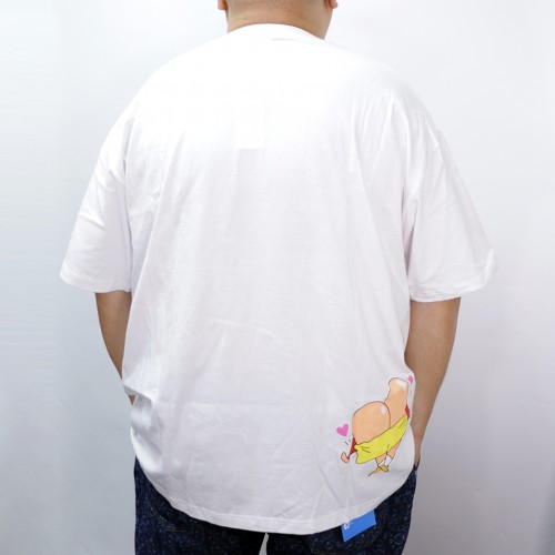 Shin Chan Give A Trumbs Up Tee - White