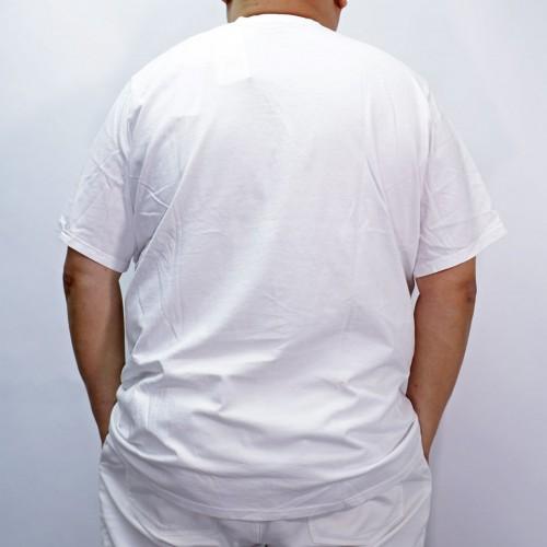 Big Logo Tee - White
