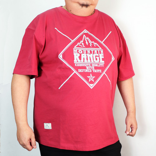 The Snowy Tee - Red